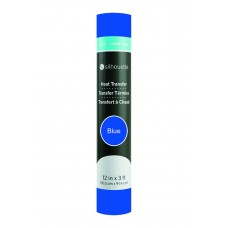 Silhouette 12inch Smooth Heat Transfer Material - Blue