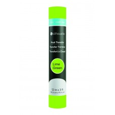 Silhouette 12inch Smooth Heat Transfer Material - Lime Green